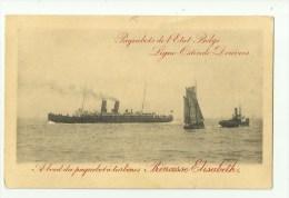 Oostende  *   Paquebots  De L'Etat Belge (Ligne Ostende - Douvres)  - Princesse Elisabeth - Enteros Postales