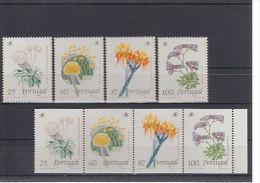 Portugal 1989 Yvertn° 1780-83 Et 1780-83a *** MNH Cote 16 Euro Flore Fleurs Bloemen - 1910 - ... Repubblica