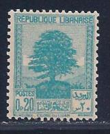 Lebanon, Scott # 137A Mint Hinged Cedar, 1940 - Lebanon