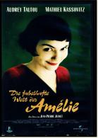 VHS Video  -  Die Fabelhafte Welt Der Amelie  -  Mit : Audrey Tautou, Mathieu Kassovitz, Yolande Moreau  -  Von 2002 - Comedy
