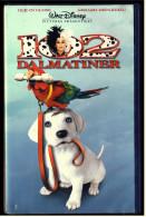 VHS Video  -  102 Dalmatiner  -  Mit :  Glenn Close ,  Gerard Depardieu ,  Tim McInnerny ,  Loan Gruffudd   -  Von 2000 - Comedy