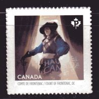 CANADA, 2014, # 2752,  HAUNTED CANADA, SINGLE FROM BOOKLET:  COUNT OF  FRONTENAC  MNH - Carnets