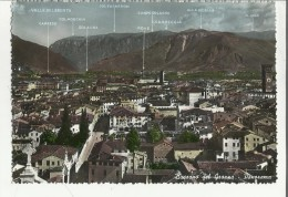 79190 A Retro Al Centro Segni Di Carta Incollata Tolta Da Album  Bassano Del Grappa - Vicenza