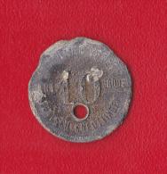 JETON DE 10 (pf)  DE LA MINE DE FONTOY-KNUTANGE - Monétaires / De Nécessité