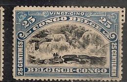 CONGO Nr 67 Cote 0.40 € T14.5*14.5 - 1894-1923 Mols: Oblitérés