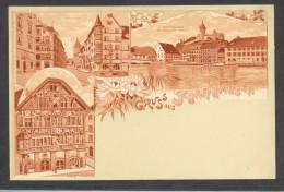 7813-GRUSS AUS SCHAFFHAUSEN-FP - Souvenir De...