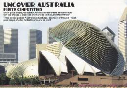 Postcard Esplanade Theatre Singapore & Sydney Opera House - Gebäude & Architektur