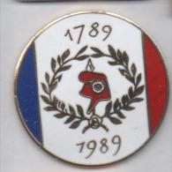 Superbe Pin´s En EGF , Bicentenaire De La Révolution Française , Bonnet Phrygien - Pin's