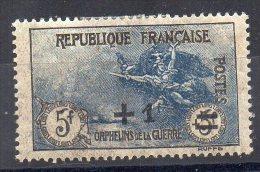 N° 169 - + 25c Sur 5F + 5F - ORPHELINS DE GUERRE - Unused Stamps