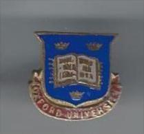 Insigne De Boutonniére/Université/OX FORD UNIVERSITY/Angleterre/ Vers 1925   D507 - Insegne