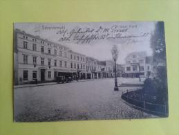 Allemagne Ou Pologne / Schneidemuhl Neuer Markt / Cachet Sarrgemund - Schneidemuhl 1917 - Vers Saarlben - Deutschland