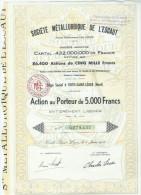 Societé Metallurgique De L'escaut - Actions & Titres