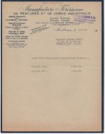 COURRIER MANUFACTURE FOREZIENNE DE PEINTURES ET VERNIS INDUSTRIELS à MONTBRISON (LOIRE) 1959 - 1950 - ...