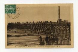 CP , 40 , CAPBRETON , L'Estacade à L'Heure Du Bain - Capbreton