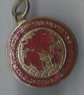 Médaillon / Origine à Déterminer/ Carte Du Monde/Inscription Indiennes?/LEWIS/ Birmingham/GBVers 1930?   D512 - Insegne
