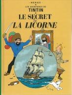 BD MINI FORMAT TINTIN LE SECRET DE LA LICORNE - Tintin