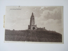 AK 1937 Knivsberg - Denkmal. Gruß Aus Nordschleswig - Nordschleswig