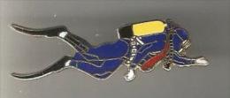 34699-Pin's.Plongée Sous Marine.signé J.Y. Segalen Collection - Plongée