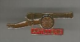 34719-Pin's .Militaire.Armée.Canon.A Rtillerie.. - Army