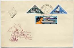 HUNGARY 1963 Lake Balaton Resort Set On FDC.    Michel  1938-40 - FDC