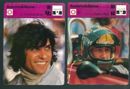 GF240 - FICHES EDITION RENCONTRE LAUSANNE - FRANCOIS CEVERT - CARLOS PACE - Car Racing - F1
