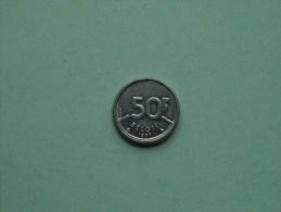 1987 VL - 50 FRANK / Morin 821 ( For Grade, Please See Photo ) !! - 1951-1993: Baudouin I
