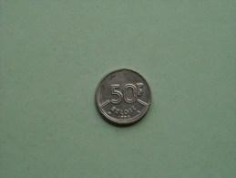 1992 VL - 50 FRANK / Morin 831 ( For Grade, Please See Photo ) !! - 1951-1993: Baudouin I