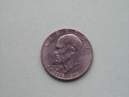 1976 - ONE $ / KM 206 ( For Grade, Please See Photo ) !! - Emissioni Federali