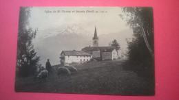 Eglise De St. Nicolas Et Grivola (Nord) Alt. 1200 M. - France