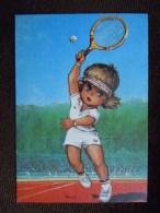 Gamins ( Poulbots) Par Michel Thomas , A La Manière De Borg , Tennis - Thomas