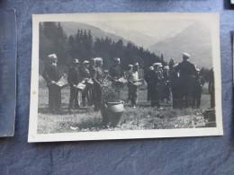 Prey-Contant ? 1937 Orchestre En Montagne CP Photo Ancienne  ; Ref 015 - Photos