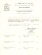 Episcolale  De Tournai - CAROLUS-MARIA HIMMER  - 1949 - Religion & Esotérisme