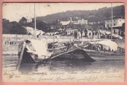 OLD POSTCARD ITALIA ITALY STRESA IMBARCADERO  1905 - Verbania