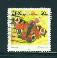 IRELAND  -  2000  Butterflies  30p  Used As Scan - Usati