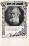 FELIX DAHN - Verlag Des Vereines Südmark (gegründet 1889), Karte Gel.1912?, Karte Geknickt. > Felix Dahn (auch ... - Schriftsteller