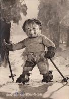 MECKI - Gruss Aus Der Winterfrische, Gebrüder Diel, Fotokarte Gel.1955? - Mecki