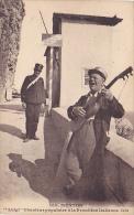 "CPA 06 MENTON ""Luigi"" Chanteur Populaire A La Frontiere Italienne - Menton"