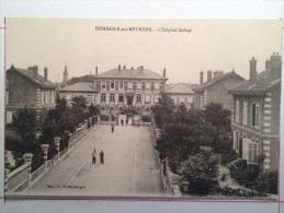 DOMBASLE-sur-MEURTHE, L'Hôpital Solvay - France
