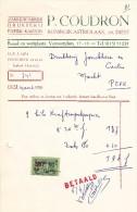 DIEST  DRUKKERIJ - PAPER - KARTON / P. COUDRON - Printing & Stationeries