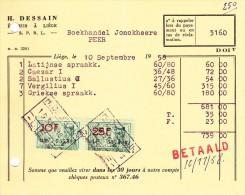 LIEGE - H. DESSAIN EDITEUR. 7. Rue Trappé - Printing & Stationeries
