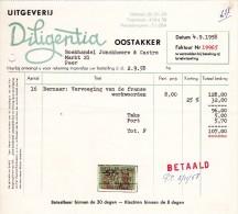 """UITGEVERIJ """"DILIGENTIA""""  OOSTAKKER >> PEER - Printing & Stationeries"""
