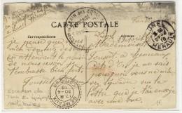 """Correspondance Militaire -  """" ESCon DU TRAIN DES EQges Mres  /  FRANCHISE  /  1916 """" + FB84  """" GEMEAUX / COTE D'OR """" - WW I"""