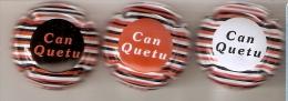 LOTE DE 3 PLACAS DE CAVA CAN QUETU (CAPSULE) CPC:CNQ431 AL CPC:CNQ433 - Placas De Cava