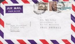 Bangladesh Airmail Par Avion CHITTAGONG 1984 Cover Brief To WALDSTETTEN West Germany Boat Schiff Ship - Bangladesch