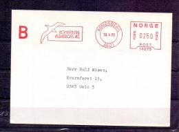 Norge - Kongsberg Albatross As. - Kongsberg 19/4/1985  (RM4312) - Albatros & Stormvogels