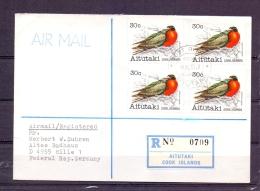 Aitutaki - Cook Islands - 18/8/1981 (RM4371) - Pelikane
