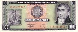 Perù 102  100 Soles 1974 A-unc - Perù