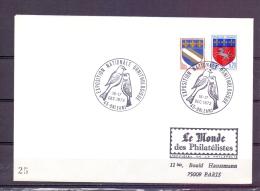 Rép. Française - Exposition Nationale Ornithologie - Orleans 16-17/12/1972  (RM5432) - Sperlingsvögel & Singvögel