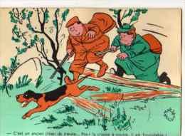 ILLUSTRATEUR Jean Belus Chasse, Chasseur, Chien - Other Illustrators