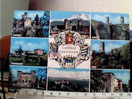 CASTELLI CANAVESI  RIVAROLO IVREA  COURGNE CASTELLAMONTE PONT AGLIE MASINO VALPERGA   N1965  EK6306 - Andere Steden